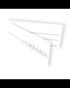 Cadeaubon Bobbi Eden Shop 25 euro
