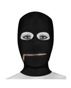 Ouch! Extreme Zipper Mask Mouth Zipper Zwart
