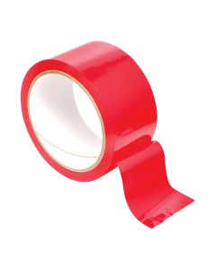 Fetish Pleasure Tape 8,9 meter Rood