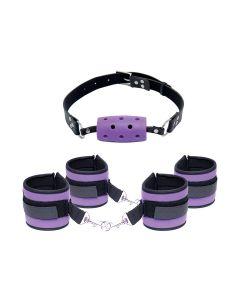 Fetish Purple Pleasure Set