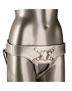 Fetish Garter Belt Harness Strap-On Zwart