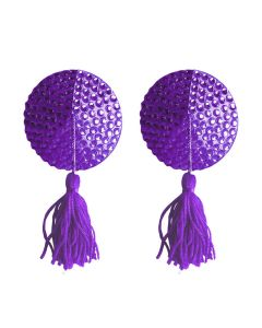 Ouch! Nipple Tassels Round Paars
