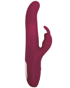Adam & Eve Eve's Twirling Rabbit Thruster Vibrator Bordeaux