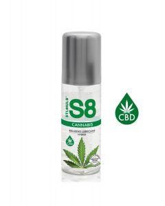Stimul8 Water & Silicone Based Glijmiddel Cannabis 125 ml