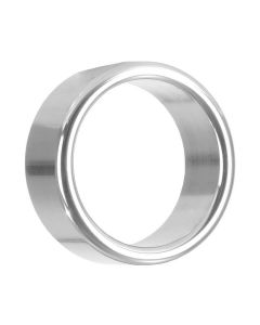 Alloy Metallic Cockring Zilver