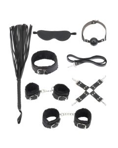 BDSM Starters Kit Black Serie
