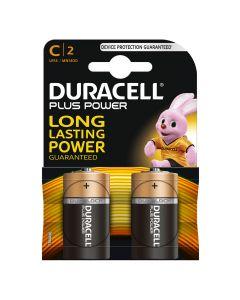 Duracell Batterijen C, 2 stuks