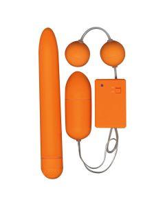 Funky Fun Box Vibrator Eitje Balletjes Oranje