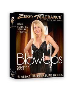 Zero Tolerance Granny Doll Opblaaspop