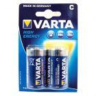 Varta C Cel Batterijen, 2 stuks
