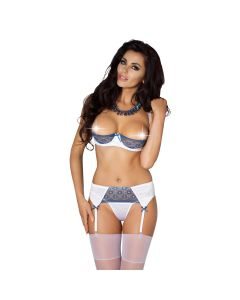 Passion Eleni Set Wit L/XL Lingerie