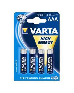 Varta Batterijen AAA, 4 stuks